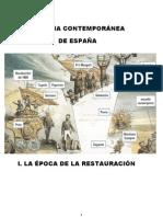 Tema 1. El Régimen Político de la Restauración