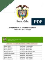 Presentación Ministerio de la Protección Social