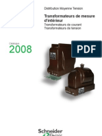 Catalogue Transformateurs de Mesure MT