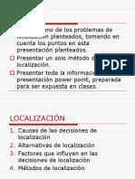 LOCALITATION 2011
