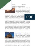 Regiones Turisticas de Mexico