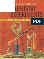 The Golden Book of Chemistry Experiments (Banned in the 60-s)