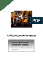 Africanización musical