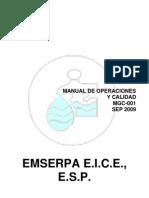 Mgc-001 Manual de Operaciones y Calidad