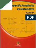 Compendio de Algebra CV