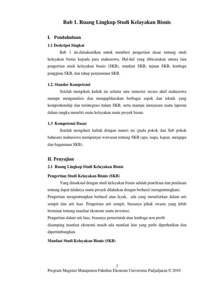 Contoh Soal Aspek Keuangan Dalam Studi Kelayakan Bisnis Contoh Soal Terbaru