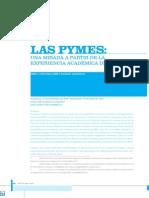 Pymes Mirada a Partir Experiencia Academica