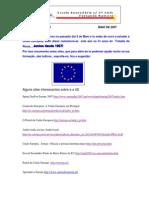 Alguns Sites Interessantes Sobre a UE