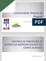 CENTROS DE PERCEPÇÃO DE ESTÍMULOS METEOROLÓGICOS NO CORPO