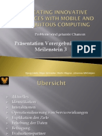 Creating Innovative Services with Mobile and Ubiquitous Computing - Bekleidungskonfigurator