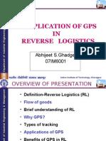 Reverse Logistics & GPS_Abhijeet Ghadge