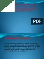 Presentación de derecho civil