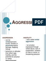 Aggression Revised