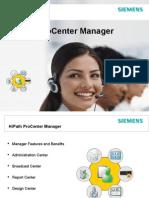 HiPath ProCenter V7-0 Manager