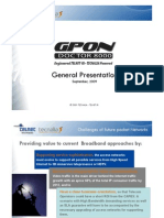 GPON Doctor - General Presentation Sep 2009
