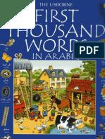 Usbourne First 1000 Words in Arabic