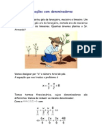 Equações com denominadores
