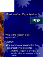 Mission Objectives Goals Strategies of An