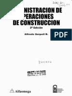 Administración de Operaciones de Construcción