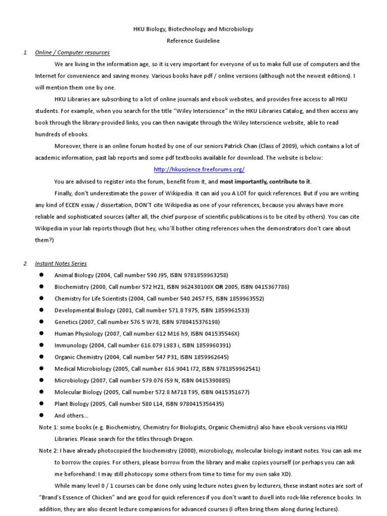 Hku bbm reference guide virology biology ccuart Gallery