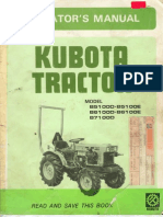 Kubota front loader la 211 loader equipment tractor kubota b5100 b6100 b7100 owners manual sciox Images