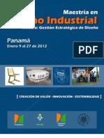 Maestría en Diseño Industrial Enero-2012
