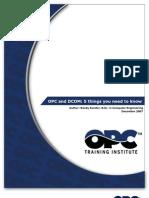 Opc and Dcom