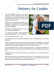 Spiritual Intimacy for Couples