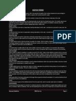 Hscotch Terms & FAQ's
