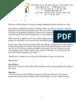 Company presentation - Presentacio ned la empresa
