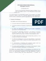 ARCCESS Operations Manual