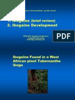 Ibogaine Politics Science Nyc2006