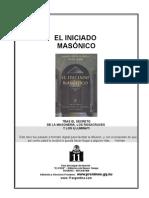 Lopez Gabriel - Iniciado Masonico