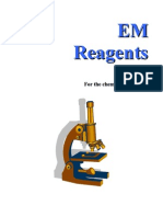 Tablas de Reactivos EM Reagents