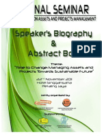 Speakers Biography and Abstract Book - 17112011