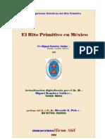 El Rito Primitivo en méxico