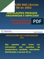 RDC 50 Climatizacao