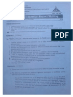 Technical Writing Final Exam ASU 2005