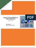 Impact of Social Media on India Healthcare-Neeraj Kakkar,Manish Shyam Nachnani