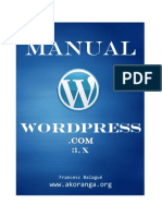 Manual tutorial Wordpress 3.0 - Akoranga