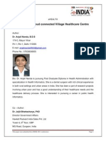 Instant-On Cloud Connected Village Healthcare Dr Anjali Nanda,Dr. Jaijit Ms Ritu Ghosh