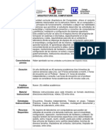 Arquitectura del Computador (Contenido Program+ítico)