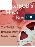 Twilight Saga Breaking Dawn Part I MarketBOB Movie Review