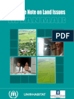 Guidance Note on Land Issues-Myanmar_Burma