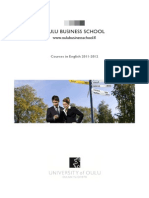 Courses in English 2011-2012