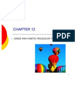 CH 12 Gases and the Kinetic-molecular Theory