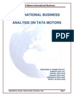 Tata Motors Analysis PDF New
