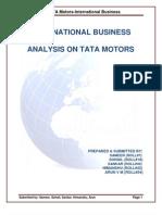 Tata Motors Analysis PDF New