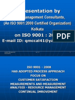 Presentation ISO 9001 - Final for Centom