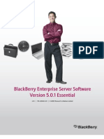 Blackberry Enterprise Server Software Version 5.0.1 Essential Student Manual